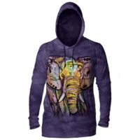 Russo Elephant Hoodie - available at Animal Care Sanctuary