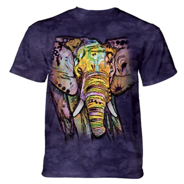 Russo Elephant T shirt - available at Animal Care Sanctuary