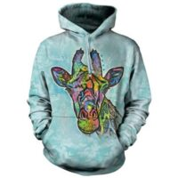 Russo Giraffe Hoodie - available at Animal Care Sanctuary