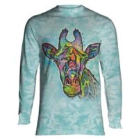 Russo Giraffe Long Sleeve Shirt - available at Animal Care Sanctuary