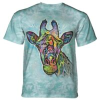 Giraffe T shirt at Animal Care Sanctuary