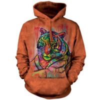 Russo Tiger Hoodie available at Animal Care Sanctuary