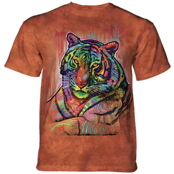 Russo Tiger T-shirt at Animal Care Sanctuary