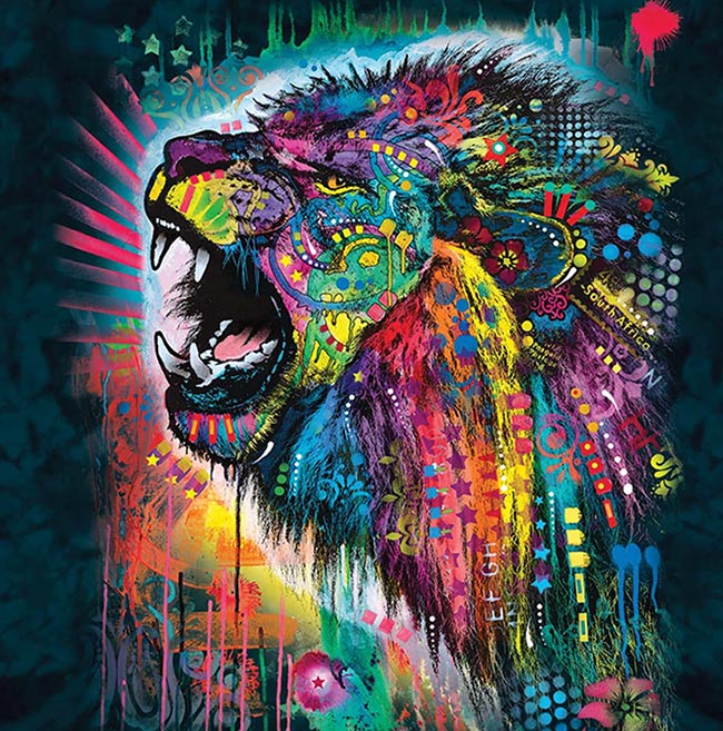 South African Lion - Dean Russo Design